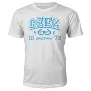 Geek Established 1970's T-Shirt- White