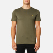 Lyle & Scott Men's Plain Pick Stitch T-Shirt - Dusty Olive