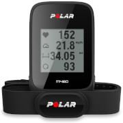 Polar M460 GPS Bike Computer with Heart Rate Monitor - Black