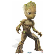 Guardians of the Galaxy Volume 2 Baby Groot Cardboard Cut Out - Life Size