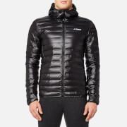 adidas Terrex Men's Light Down Hooded Jacket - Black