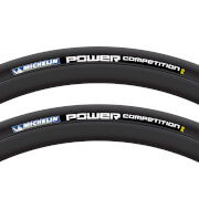 Michelin Power Competition Clincher Tyre Twin Pack