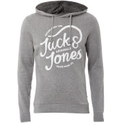 Jack & Jones Men's Originals Jolly Hoody - Light Grey Marl