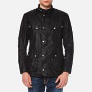 Barbour International Men's Duke Wax Jacket - Black