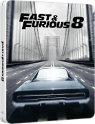 Fast & Furious 8 (4K Ultra HD + versión 2D + descarga digital) - Steelbook Edición Limitada Exclusivo de Zavvi