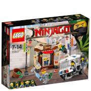 The LEGO Ninjago Movie: Persecución en ciudad de NINJAGO® (70607)