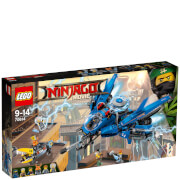 The LEGO Ninjago Movie: Jet del rayo (70614)