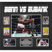 Nigel Benn and Chris Eubank Dual Signed 16 x 12 Photograph