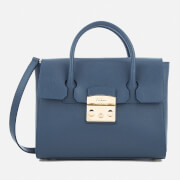 Furla Women's Metropolis Small Satchel Bag - Avio Scuro C