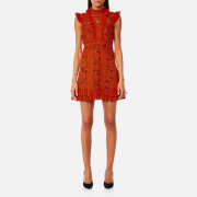 Three Floor Women's Sienna Dress - Rust Red/Grape