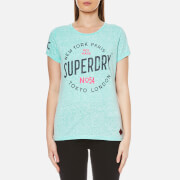 Superdry Women's City of Dreams T-Shirt - Aquamarine