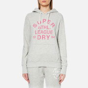 Superdry Women's Athletic League Loopback Hoody - 90's Athletic Grey Marl