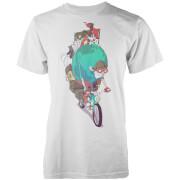T-Shirt Homme Mr Le Voyageur Vo Maria -Blanc