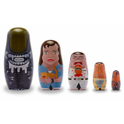 Alien Wooden Nesting Dolls