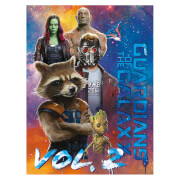 Guardians of the Galaxy Vol. 2 (The Guardians) 60 x 80cm Canvas Print