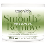 Caronlab Smooth And Remove Pure Olive Oil Strip Wax Microwaveable 400g
