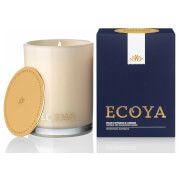 ECOYA Blue Cypress And Amber Madison Jar Candle 400g - Limited Edition