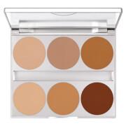 Kryolan Professional Make-Up Dual Finish Contouring Palette 10g