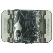 Linziclip Midi Claw Clip - Black And Grey Swirl
