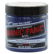Manic Panic Semi-Permanent Hair Color Cream - Blue Steel 118ml