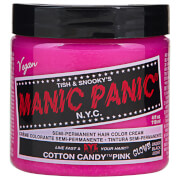 Manic Panic Semi-Permanent Hair Color Cream - Cotton Candy Pink 118ml