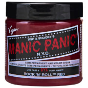 Manic Panic Semi-Permanent Hair Color Cream - Rock 'N' Roll Red 118ml