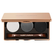 nude by nature Natural Illusion Eye Shadow Trio #02 Smoky 3 x 2g