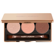 nude by nature Natural Illusion Eye Shadow Trio - Rose 3 x 2g