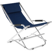 Premier Housewares Folding Garden Chair - Blue