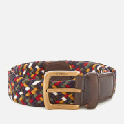 Barbour Men's Tartan Coloured Stretch Belt Gift Box - Classic
