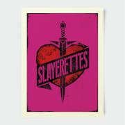 Buffy The Vampire Slayer Slayer Heart And Dagger 30x40cm Print
