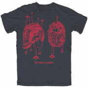 Marvel Guardians of the Galaxy Star-Lord Heren t-shirt - Navy