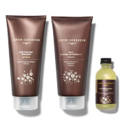 Grow Gorgeous Hair Density Serum Intense, Density Shampoo Intense and Hyaluronic Density Conditioner (Worth $97.00)
