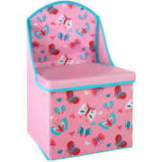 Premier Housewares Butterfly Storage Box/Seat