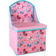 Premier Housewares Butterfly Storage Box/Seat