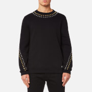 Versace Collection Men's Activewear Logo Sweatshirt - Nero