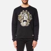 Versace Collection Men's Activewear Sweatshirt - Nero