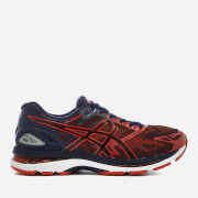 Asics Running Men's Gel Nimbus 19 Trainers - Peacoat/Red Clay/Peacoat
