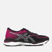 Asics Running Women's Gel Cumulus 19 Trainers - Black/Silver/Pink