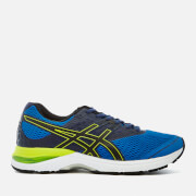 Asics Running Men's Gel Pulse 9 Trainers - Directoire Blue/Black/Indigo Blue