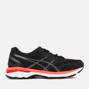 Asics Running Women's GT-2000 5 Trainers - Black/Carbon/Hot Orange