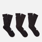 Asics Men's 6 Pack Crew Socks - Performance Black