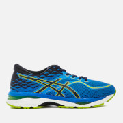 Asics Running Men's Gel Cumulus 19 Trainers - Blue/Peacoat/Energy Green