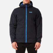 Jack Wolfskin Men's Chilly Morning Hooded Jacket - Night Blue