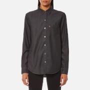 Levi's Women's Sidney 1 Pocket Boyfriend Shirt - Super Dark Authentic