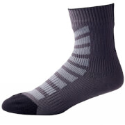Sealskinz MTB Ankle Socks with Hydrostop - Grey/Black