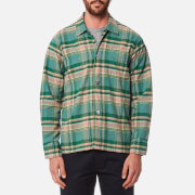 Our Legacy Men's Box Long Sleeve Shirt - Lemongrass Check