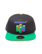 Gorra Nintendo N64 Logo - Negro