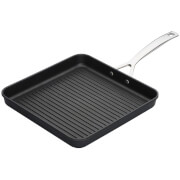 Le Creuset TNS Ribbed Square Grill - 23cm - Black