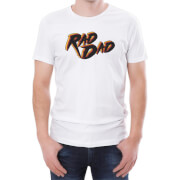 Rad Dad Men's White T-Shirt